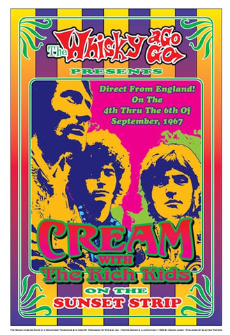 Cream with The Rich Kids - On The Sunset Strip
