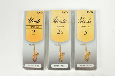 Hemke Tenor Saxophone Reeds - Box of 5