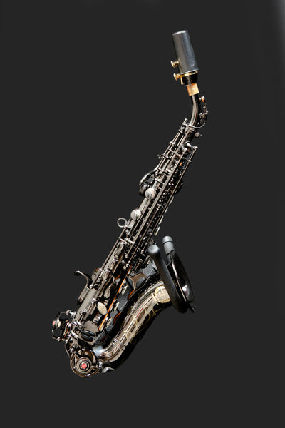 Black Diamond  Professional Curved Soprano Saxophone