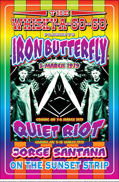 Iron Butterfly with Quiet Riot