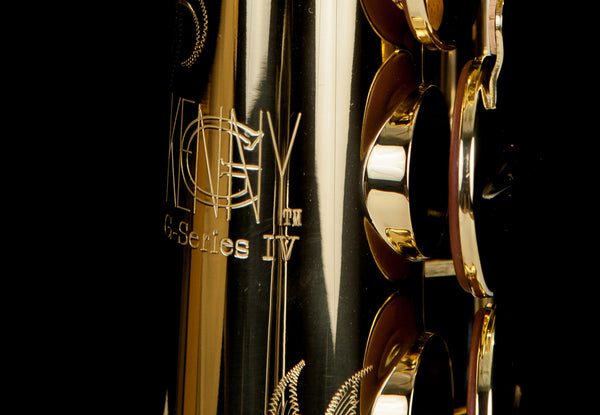 Kenny G 'G-Series IV' Lacquered Body with Lacquered Keys Soprano Saxophone-TSP