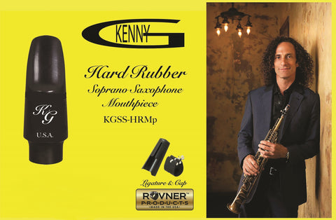 Kenny G Power Chamber Hard Rubber Soprano Saxophone Mouthpiece