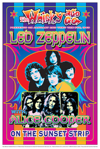 Led Zeppelin  at the Whisky A Go Go