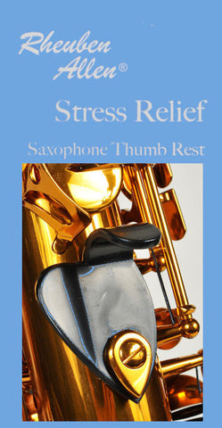 Stress Relief Sax Thumb Rest  Plastic