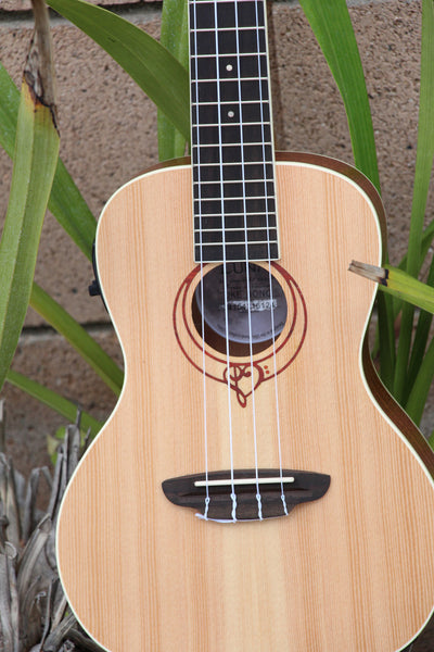 Luna Heartsong Acoustic-Electric Concert Ukulele