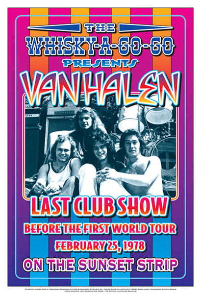 Van Halen Last Club Show at the Whisky-A-Go-Go
