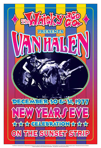 Van Halen New Years Eve at the Whisky A-Go-Go