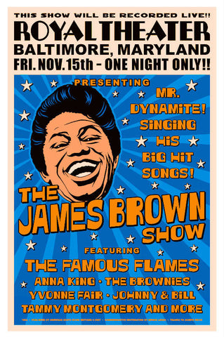 James Brown  15x23