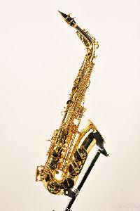 RA Series 5 Clear Lacquered Alto Sax HPN