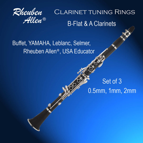 Clarinet Tuning Rings Set of 3