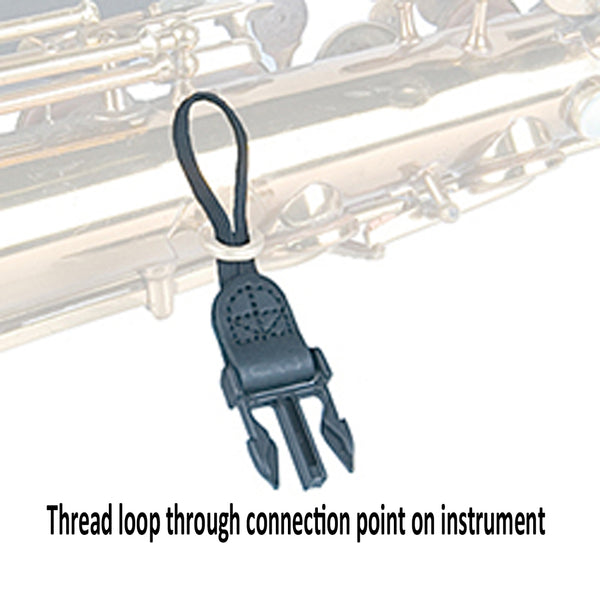Soft Sax® Saxophone Neck Strap XL Loop Connection
