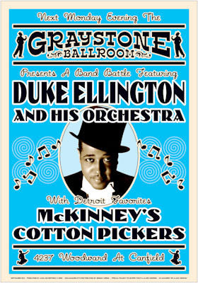 Duke Ellington Jazz Poster