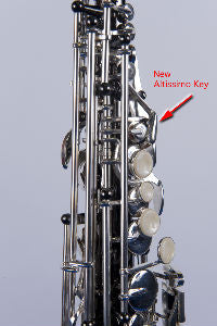 Kenny G E-Series III Black Nickel Silver Soprano Sax