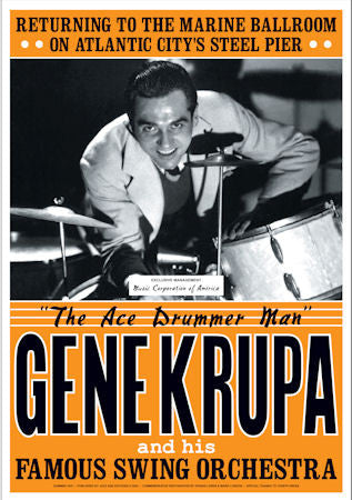 Gene Krupa    The Ace Drummer Man