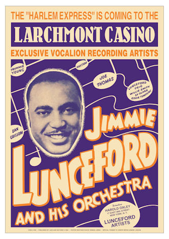 Jimmie Lunceford and His Orchestra Poster