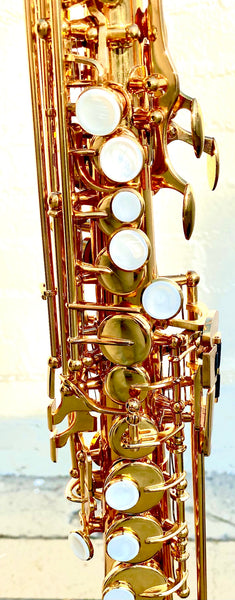 "Kenny G Original ""G-Series"" Soprano Sax in Lacquer Finish"