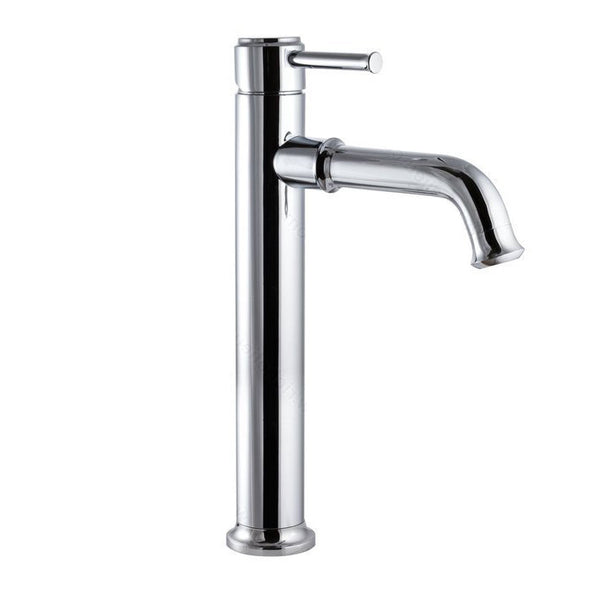 Riveo bathroom vanity faucet A193140 modern single handle tall with chrome finish.