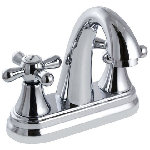 Beautiful riveo bathroom vanity faucet A215140 two handle solid brass construction with chrome finish.
