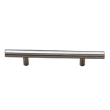 Contemporary Metal Handle Pull - 305 Antique Nickel Leonardos House