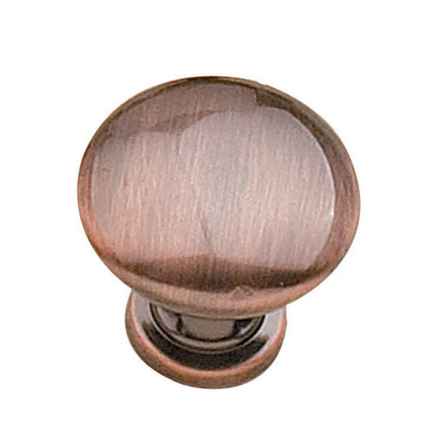 High quality cabinet knobs for the classy kitchen in antique copper.