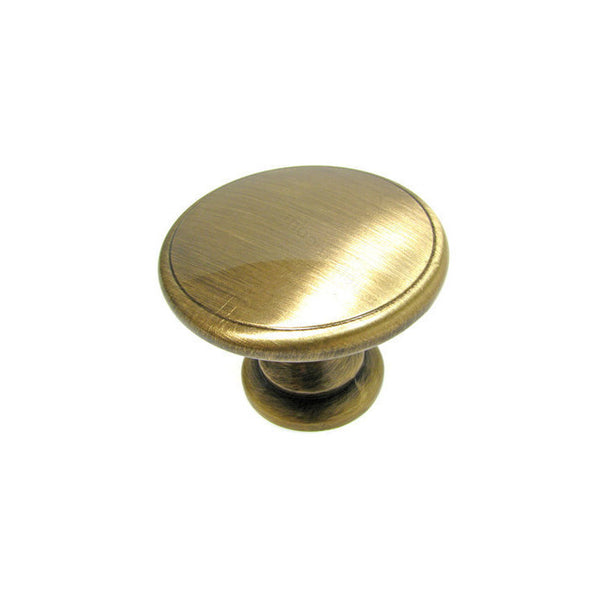 Elegant round kitchen cabinet knobs in antique english.