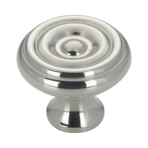 High quality cabinet knobs for the classy kitchen round with chrome finish.