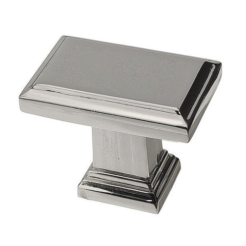 High quality cabinet knobs for the classy kitchen in nickel.