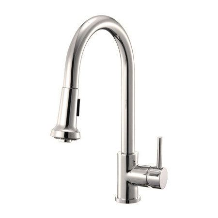 Riveo kitchen faucet top quality pull down spray brushed nickel A174195
