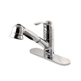 beautiful riveo kitchen faucets single handle in brushed nickel a185195