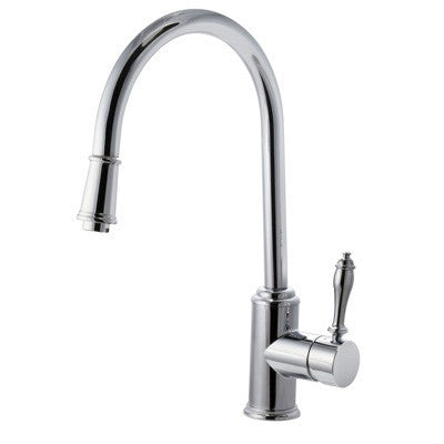 Pull out kitchen faucet riveo single handle chrome A175140