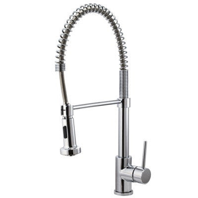 High quality riveo kitchen faucet pull down spray chrome a184140
