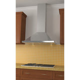 Stainless steel kitchen wall hood 30 inches with 292 CFM