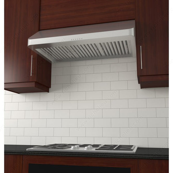 Under cabinet stainless steel kitchen hood 900 CFM