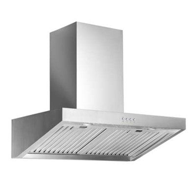 Stainless steel wall hood 30 inches with 600 CFM