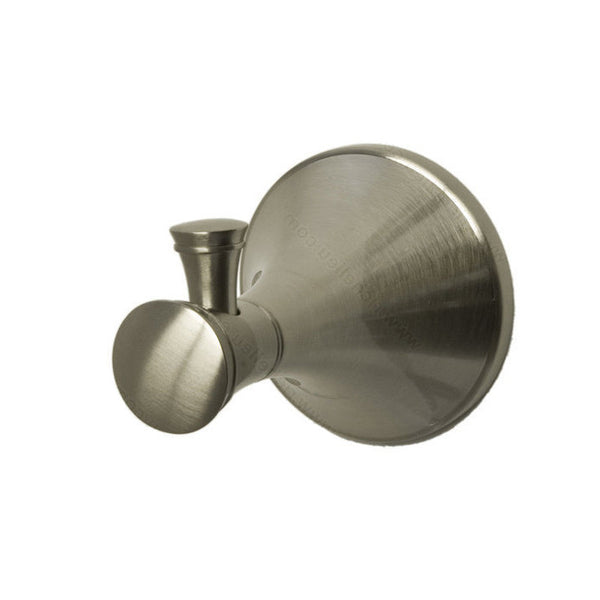Bathroom hook from palermo collection contemporary in brushed nickel.
