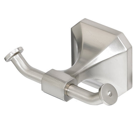 Beautiful bathroom hook from riviera collection classic and stylish in brushed nickel.