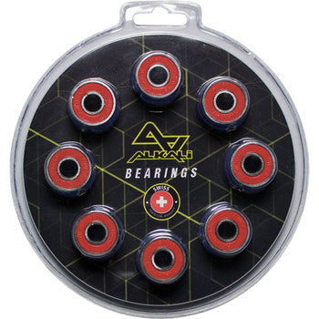 Alkali 16-Pack Inline Hockey Speed Bearings (Swiss Lite)