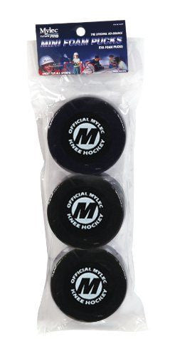 Mylec Mini Foam Pucks 3pack