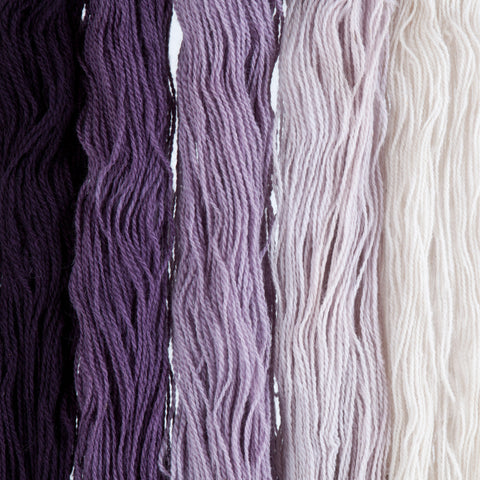 Logwood, Hand-dyed 2-ply Tapestry Yarn