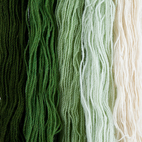 Piñon, Hand-dyed 2-ply Tapestry Yarn