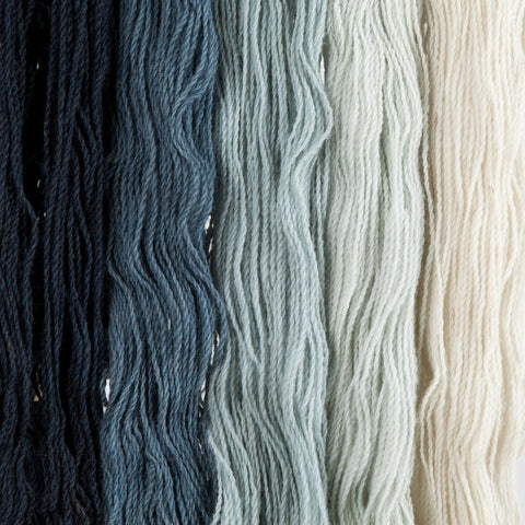 Slate, Hand-dyed 2-ply Tapestry Yarn
