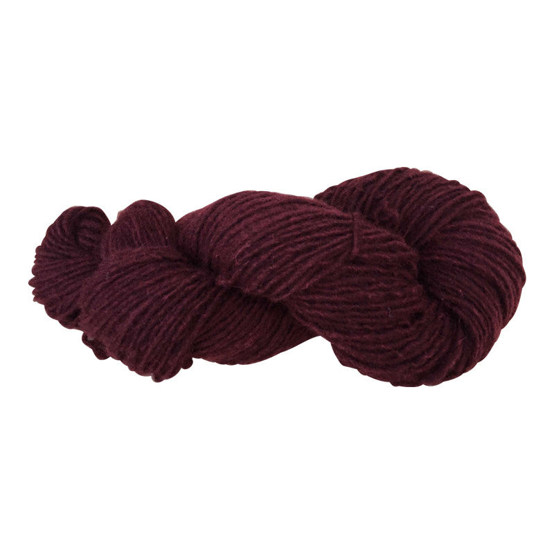 Crabapple, Hand-dyed Medium Weight Churro Yarn