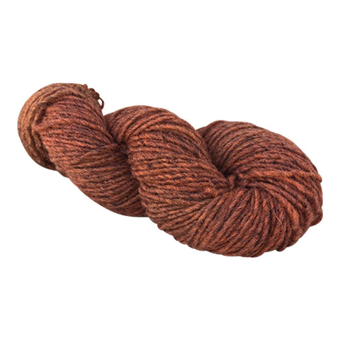 Tierra Naranja, Hand-dyed Medium Weight Churro Yarn