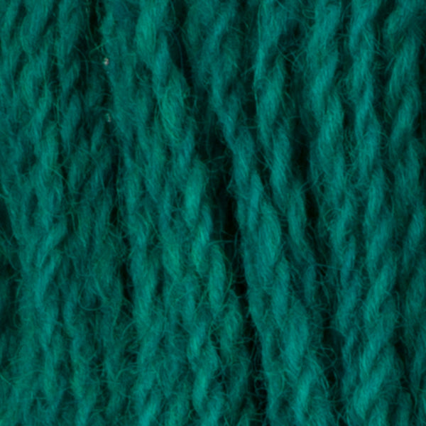 Turquoise, Hand-dyed 2-ply Tapestry Yarn
