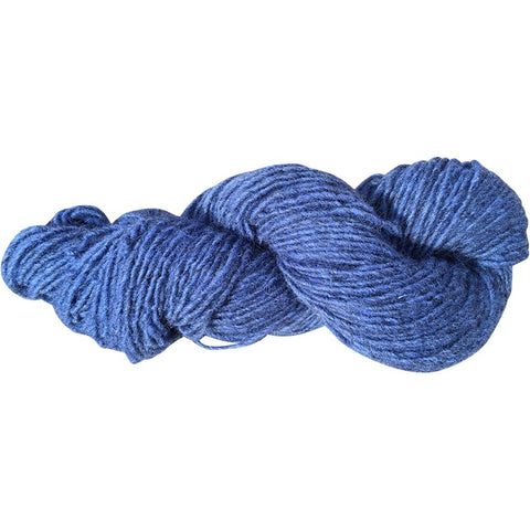 Twilight, Hand-dyed Medium Weight Churro Yarn