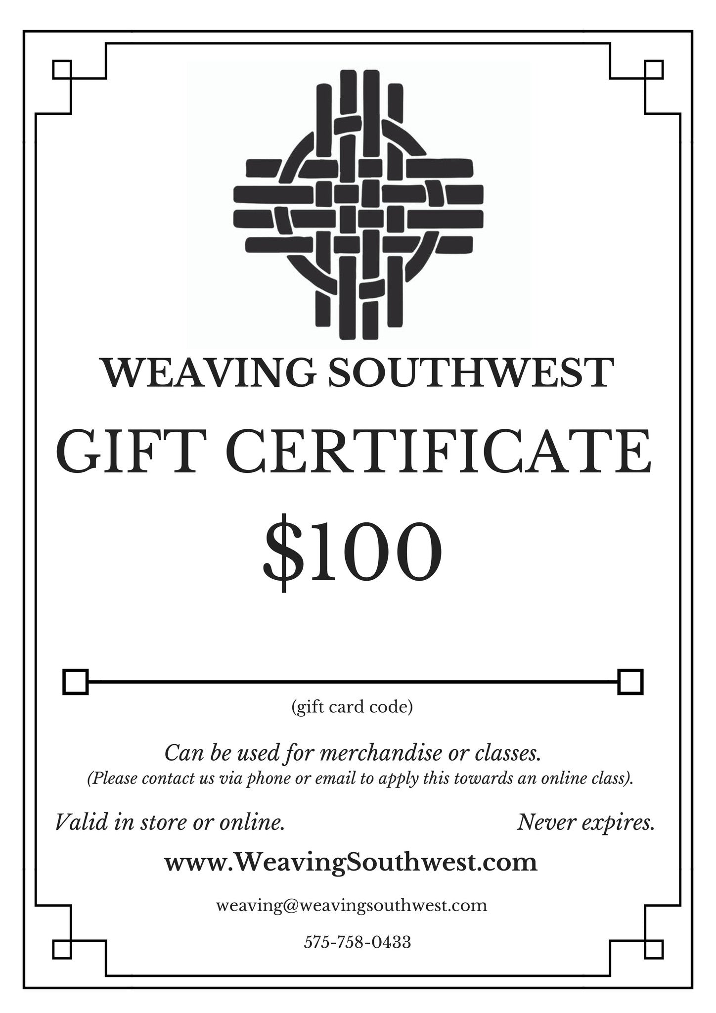 Gift card weaving southwest gift card 1betcityfo Gallery