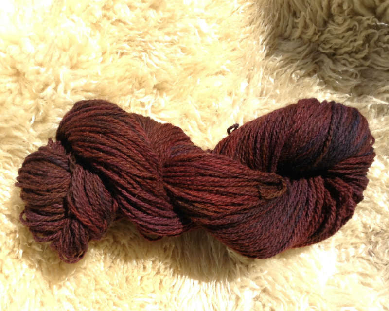 Winterplum, 2-Ply Perendale