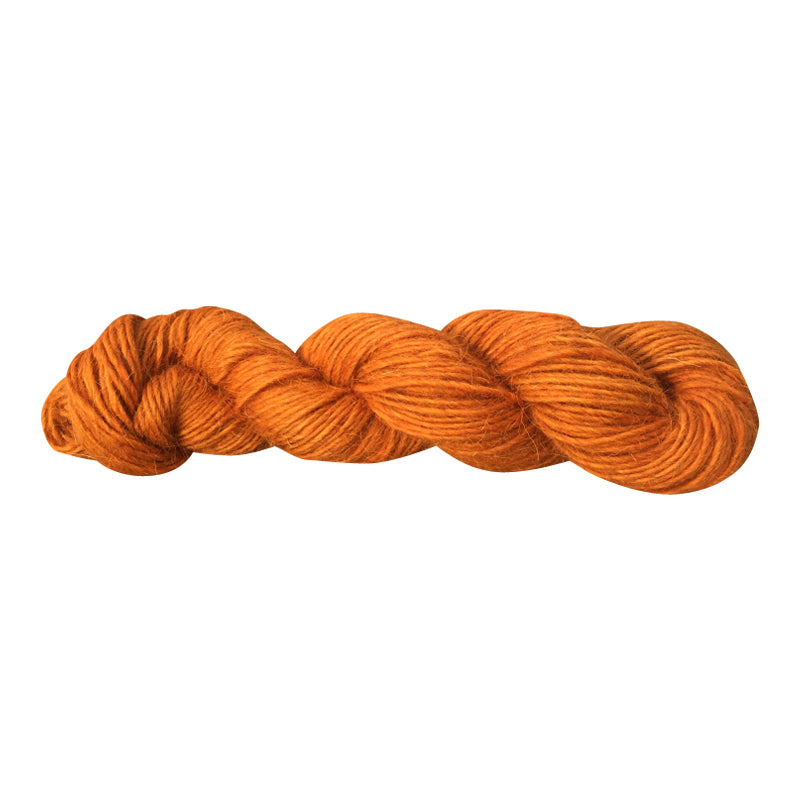 Habanero, Hand-dyed Medium Weight Churro Yarn