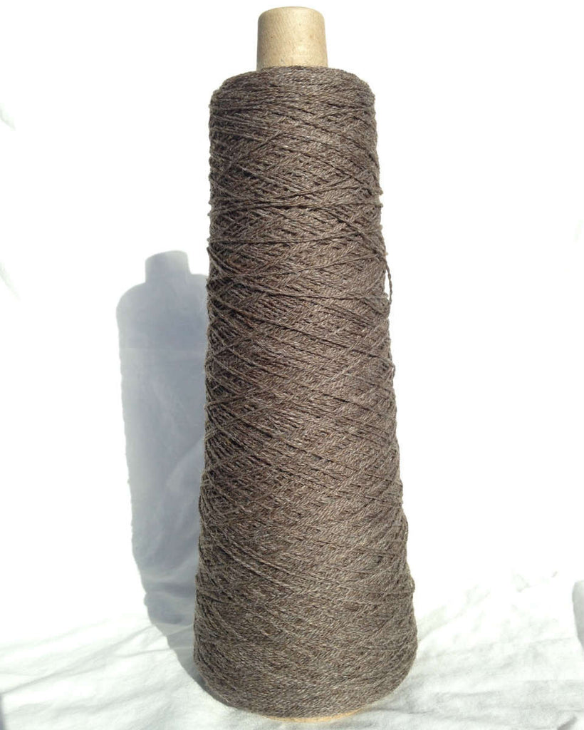 2-Ply Worsted Wool Warp, Charcoal