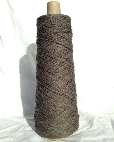 3-Ply Worsted Wool Warp, Charcoal